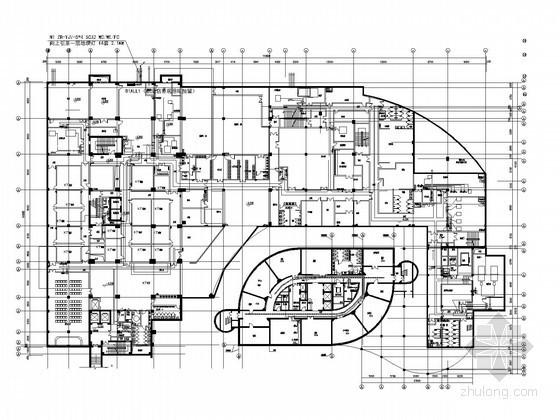 [安徽]涉外国际五星级酒店亮化工程电气图纸(灯具参数)