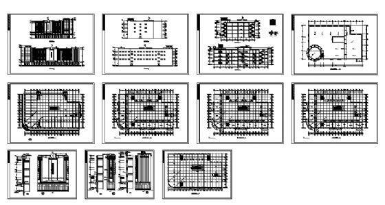四层商场建筑施工图-4