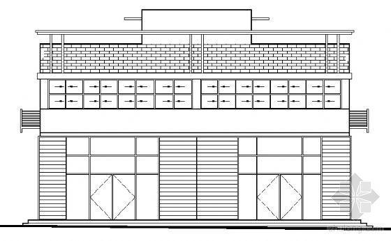 山东香港五金家居城B11块改造工程建筑施工图