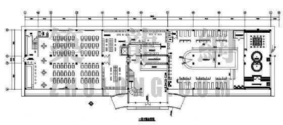 某洗浴中心装修方案图