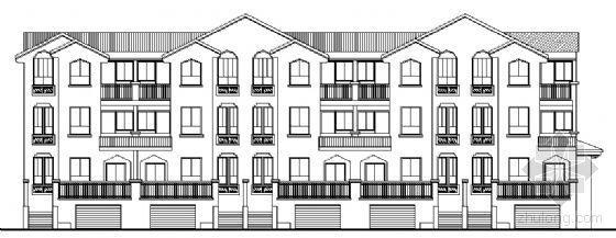 某三层联排别墅设计方案 1号楼