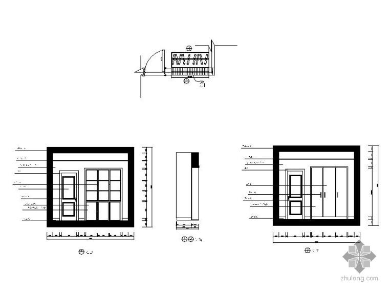 三居室内装修图_3