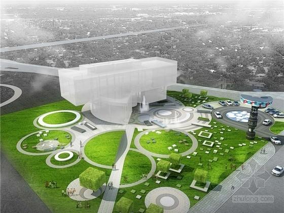 [北京]知名地产体验中心景观改造设计方案文本(2套方案)