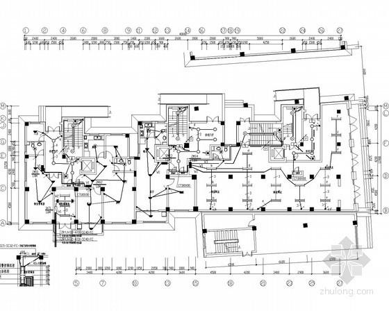 多层及高层住宅电气施工图纸