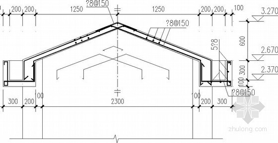 欧式别墅坡屋顶及墙体节点构造详图