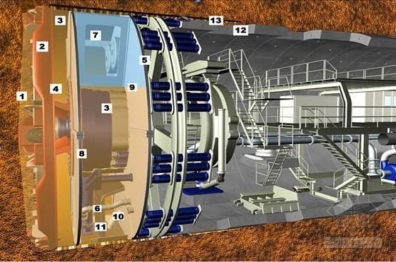 [广东]创鲁班奖单孔双线泥水加压式平衡盾构区间隧道施工组织设计282页