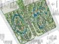 [武汉]现代自然风格住宅小区景观设计方案(含CAD)