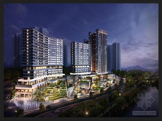 [广东]地上18层部分框支剪力墙结构商住楼结构施工图