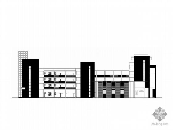 [合集]4套多层小学建筑施工图(含教学楼、风雨操场)
