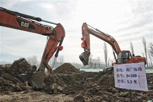 北京世园会场馆建筑年内全部封顶,园区预计2018年底完工!