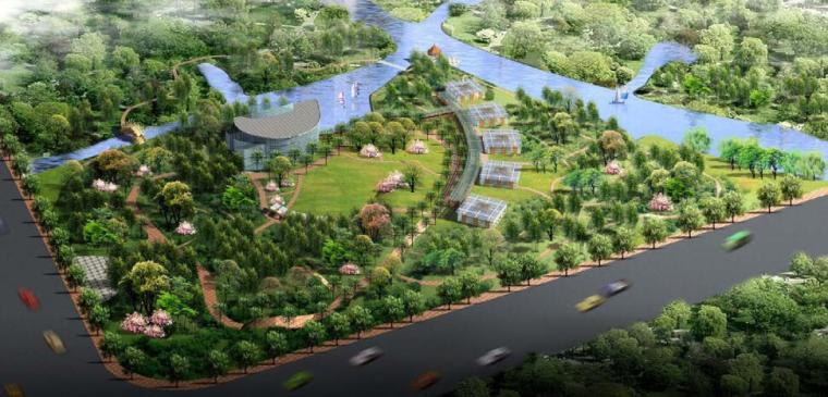 [上海]国家植物园规划设计方案(CAD总平面+实景图)