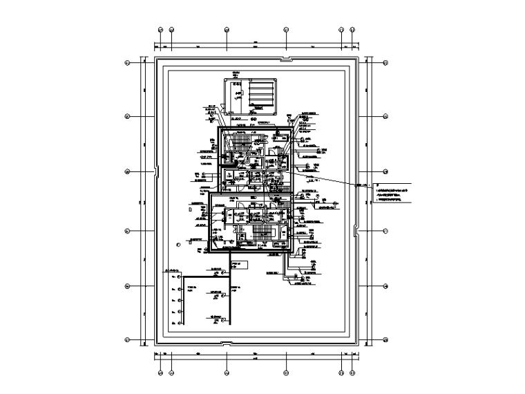 北京云计算数据中心宿舍楼等7项电气施工图(大院设计)