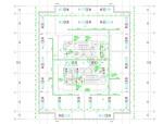 天津市某研发大楼空调风管设计图(含系统图、平面图、大样详图)
