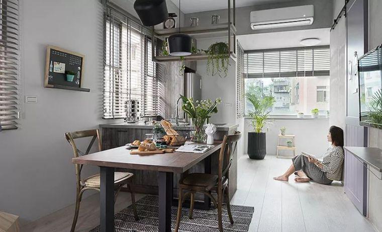 有了这40㎡的单身公寓,只想宅在家里撸猫_21