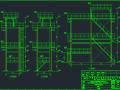 钢构架焊接结构施工图