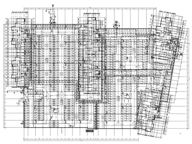 [烟台]商业综合体给排水消防施工图163张(含11栋单体2个车库)