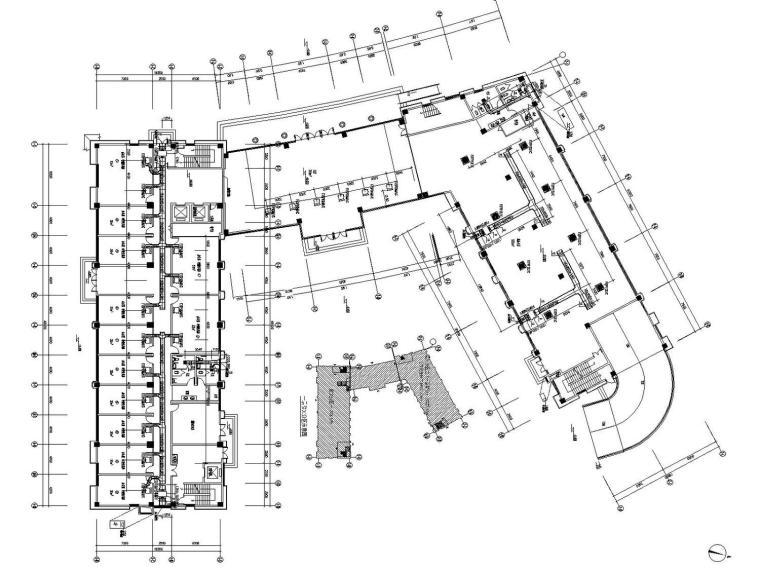 传染病排烟资料下载-[江苏]高层防疫大楼空调通风及防排烟系统设计施工图(节能设计)