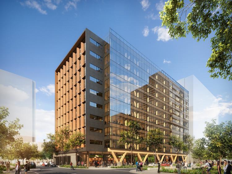Bates Smart 计划建设澳大利亚最高的木结构建筑
