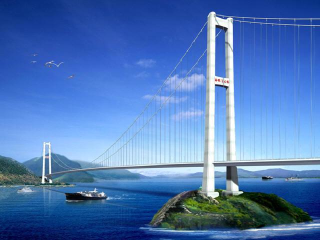 [浙江]分体式钢箱加劲梁悬索桥跨海大桥上部结构安装总体施工组织设计355页(附图丰富)