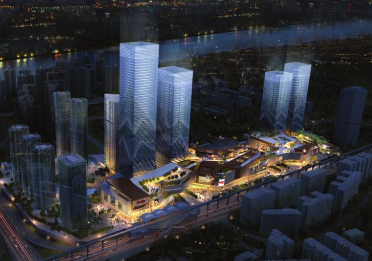 [重庆]现代风格知名地产商业建筑设计方案文本