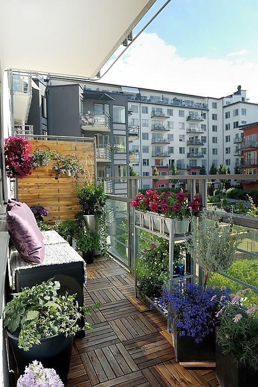 30个开放式阳台花园设计方案_27