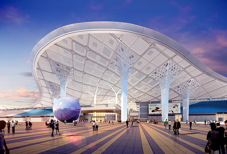 全国7大会展中心设计合集(实景图+效果图)