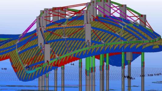 BIM技术应用于钢构施工中的研究与案例.