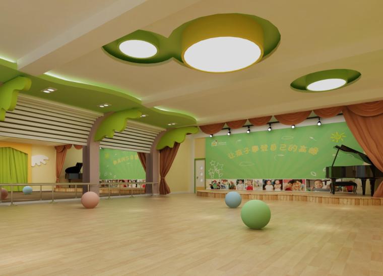 威海翠海明珠幼儿园室内设计实景图