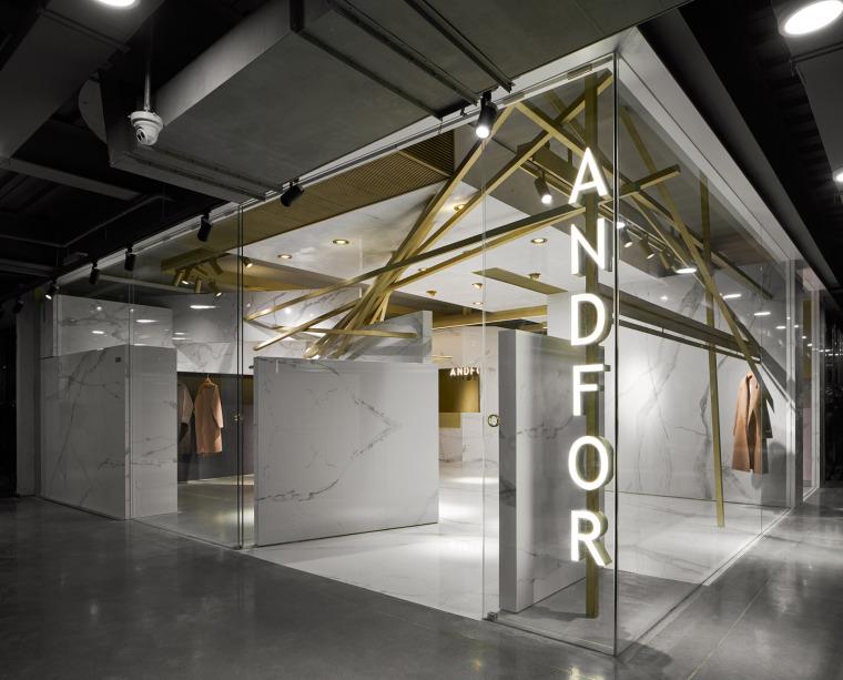 杭州ANDFOR服装品牌展厅-10