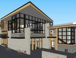 现代木结构设计工作室SU模型