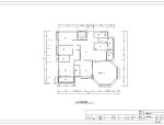 广州欧式风格景观园别墅室内设计施工图