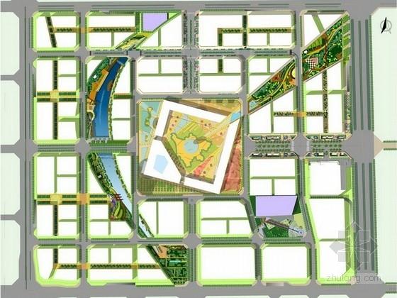 [成都]通达汇聚主题综合商务区景观规划设计方案