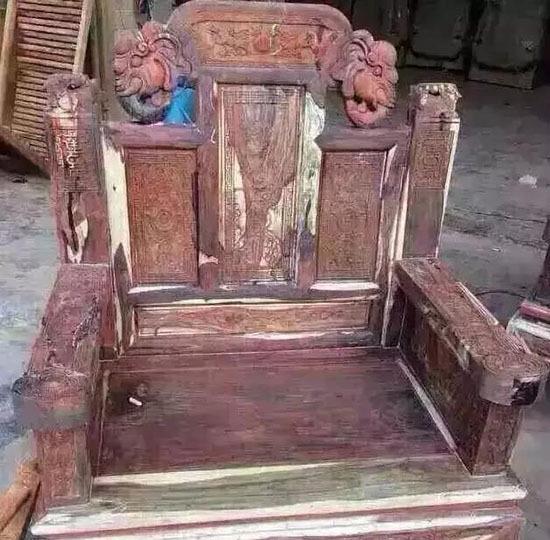 年底清仓甩卖的红木家具,千万要小心