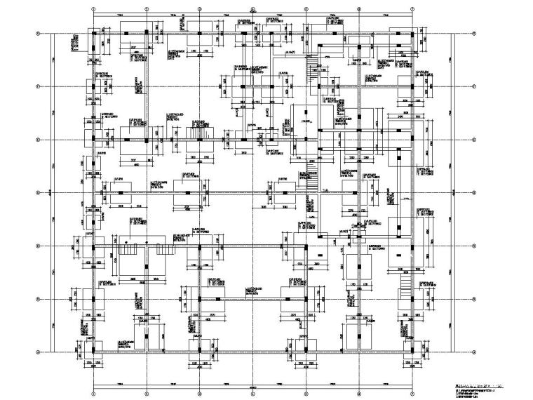 [浙江]二层框架结构文化中心结施(含计算书CAD与PDF双版本)