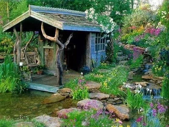 乡村庭院这么美,你有什么理由不喜欢!_3