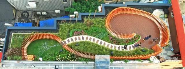 同济大学JOY GARDEN:充满趣味的屋顶实验花园 / 都市绿创
