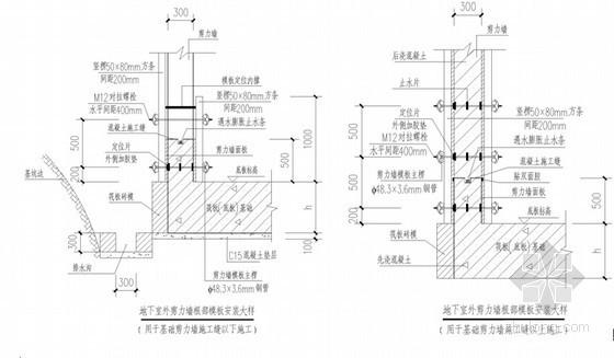 框剪结构物流中心模板工程施工方案(近300页 附计算书)