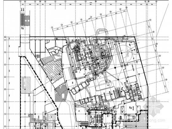 [辽宁]超高层综合楼空调项目改造施工图(大院出品)