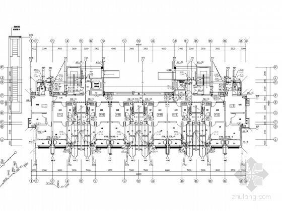 [安徽]安置小区及商业建筑给排水消防施工图(甲级设计院 太阳能)