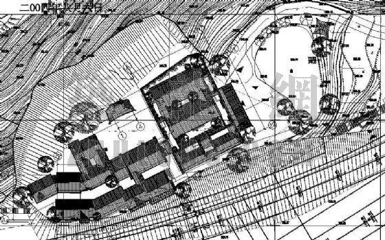 植物园民俗村规划设计施工图