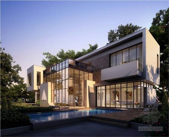新古典风格住宅规划效果图