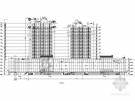 内蒙古17层公寓GRC幕墙施工方案图纸