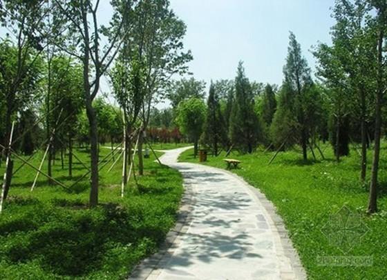 园林工程监理规划(绿化 地板铺设 护栏)