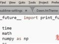 修改Sublime Text编辑器滚动条滑块颜色的方法