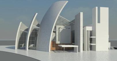 高层建筑巨型钢柱垂直度测量方法