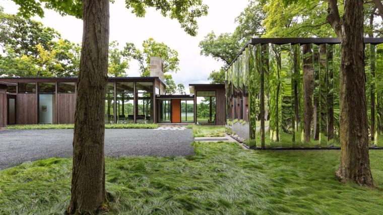匿迹于森林深处的玻璃小屋