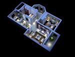 欧式家居3D模型下载