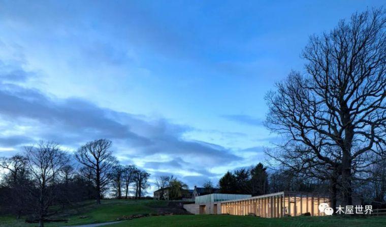 有了木结构才是好建筑!Weston游客中心及美术馆