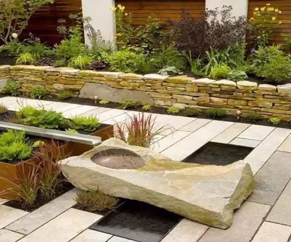 自己动DIY~打造浪漫的庭院水景