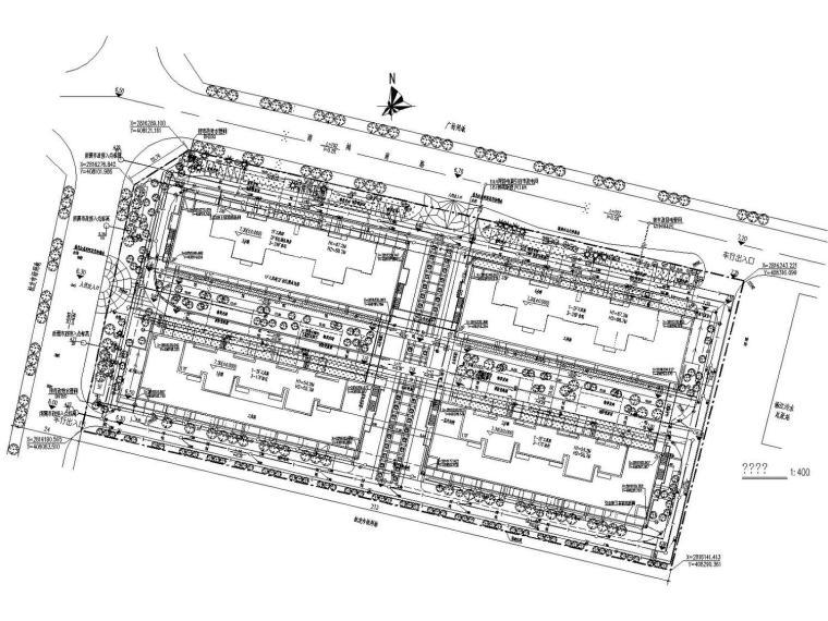 [福建]多栋高层安置楼给排水喷淋消防系统施工图(含连廊设计)